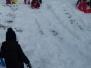 Zimní radovánky na školní zahradě